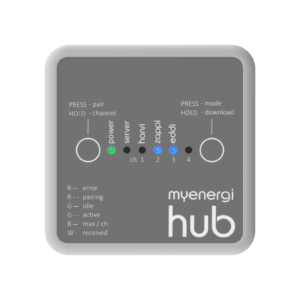 myenergi hub (required for OLEV grant as part of zappi install)