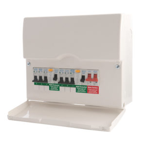New Consumer Unit: 4-6 Circuits (ET6)