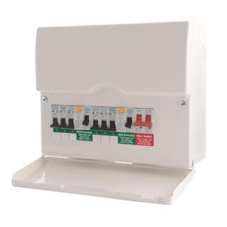 New Consumer Unit: 4-6 Circuits (ET6)