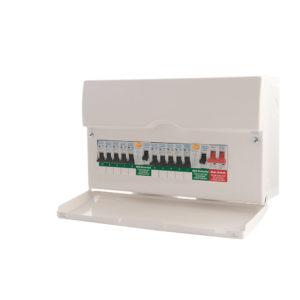 New Consumer Unit: 7-10 Circuits (ET8)