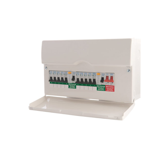 New Consumer Unit: 7-10 Circuits (ET8)