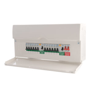 New Consumer Unit: 11-16 Circuits (ET10)