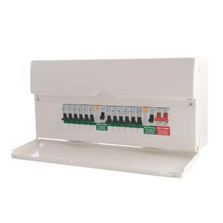 New Consumer Unit: 11-16 Circuits (ET10)