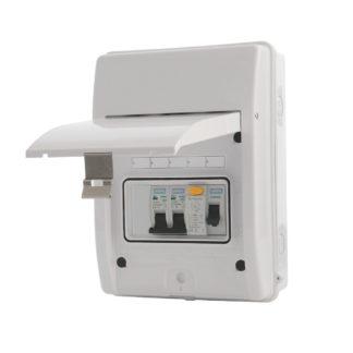 New Consumer Unit: 1 -3 circuits (ET3)