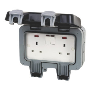 Parts: Outdoor double socket
