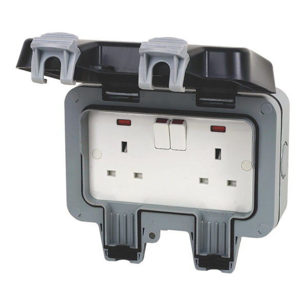 Parts: Outdoor double socket