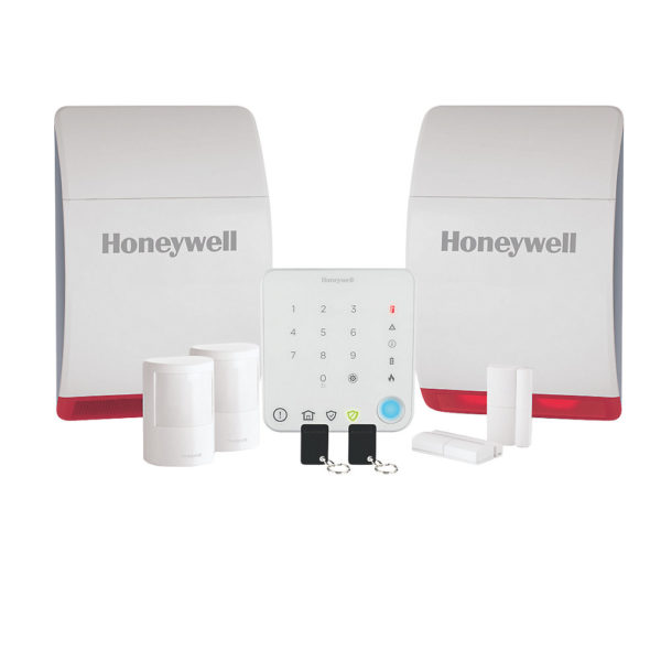 Honeywell wireless alarm home kit