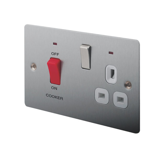 Cooker / Oven: switch installation 32amp recessed