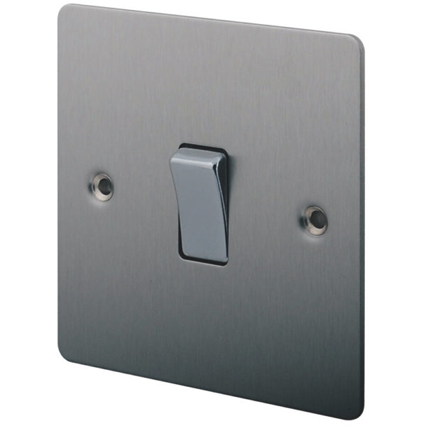 New light installations: Light switch (recessed)