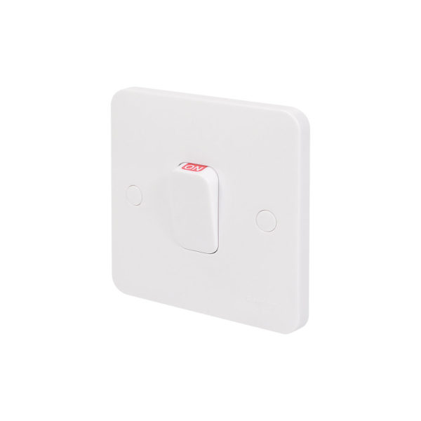New light installations: Light switch (surface mounted)